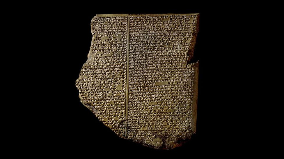 The epic of Gilgamesh has endured for 4,000 years, with elements of storytelling that teach us how to cooperate (Credit: The Trustees of the British Museum)
