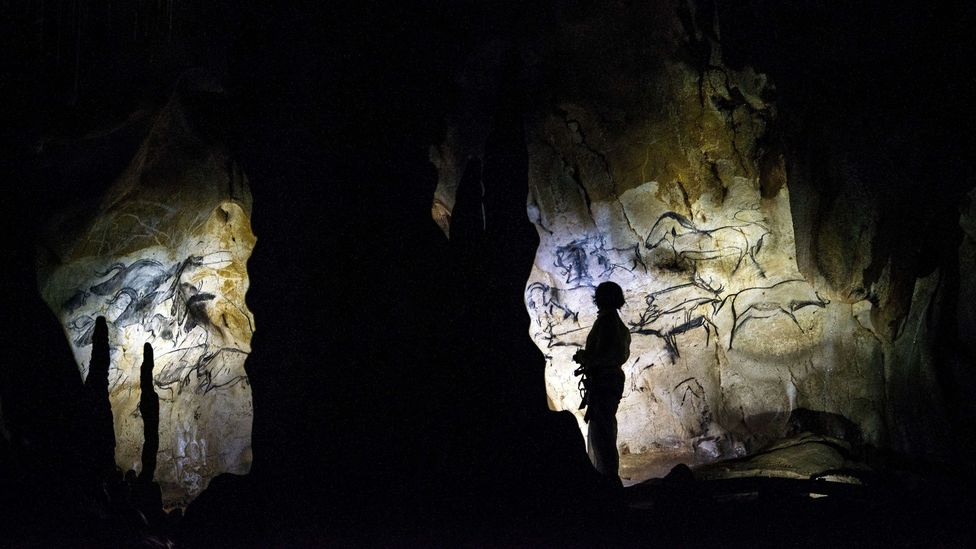 Cave paintings like those at Chauvet reveal forms of storytelling dating back 30,000 years (Credit: Getty Images)