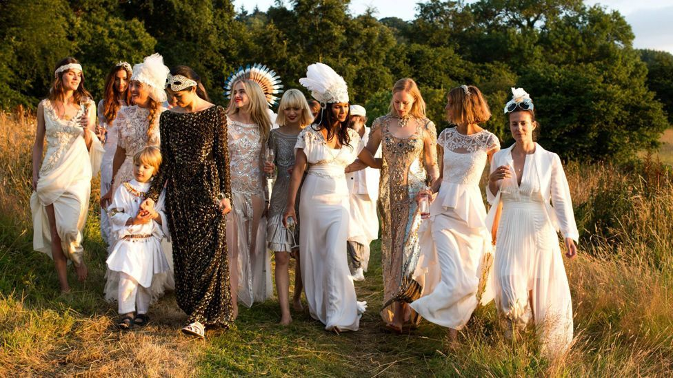 Alice Temperley's boho-chic bridal designs are inspired by a 1920s silhouette (Credit: Temperley)
