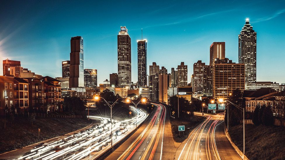 Atlanta has emerged as one of the epicentres of new American English phrases (Credit: Getty Images)