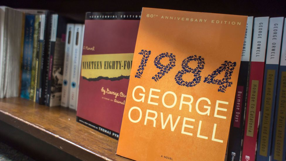 Sales of 1984 have recently surged in the US, India, Britain and China (Credit: Alamy)