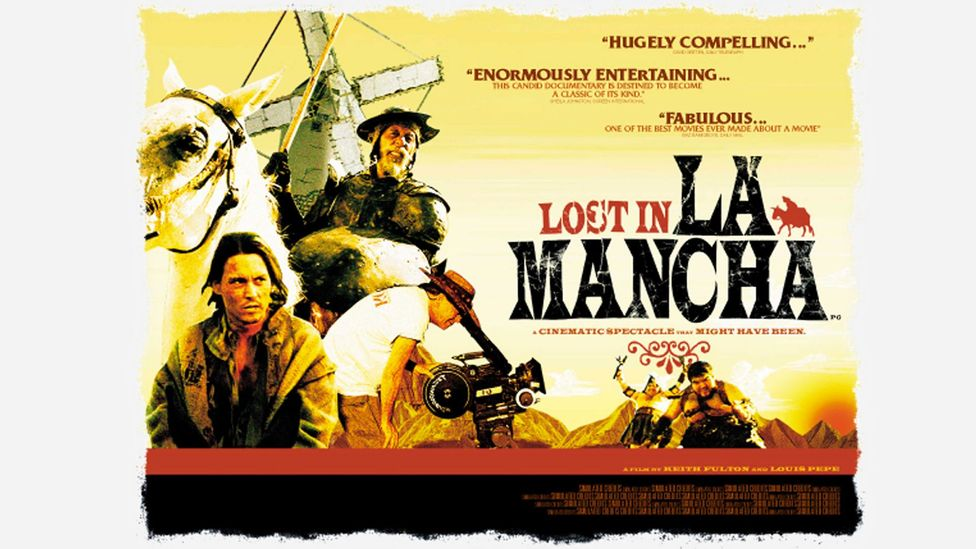 The travails of that original production were caught on camera and turned into the cult 2002 documentary Lost in La Mancha (Credit: Alamy)