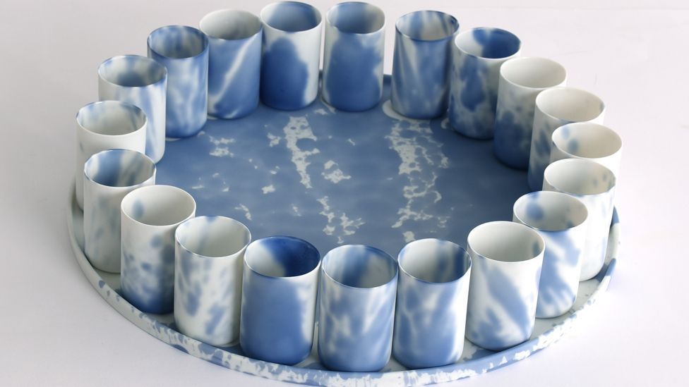 Belgian ceramicist Piet Stockmans combines traditional methods with a contemporary approach in his tableware (Credit: Piet Stockmans/ Spazio Nobile)