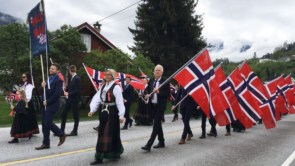 After the hard work of dugnad Norway's National Day on May 17 includes many parades and parties (Credit: Oddrun Midtbo)