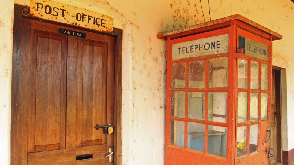 The Amani post office once processed a steady stream of mail (Credit: Rachel Nuwer)