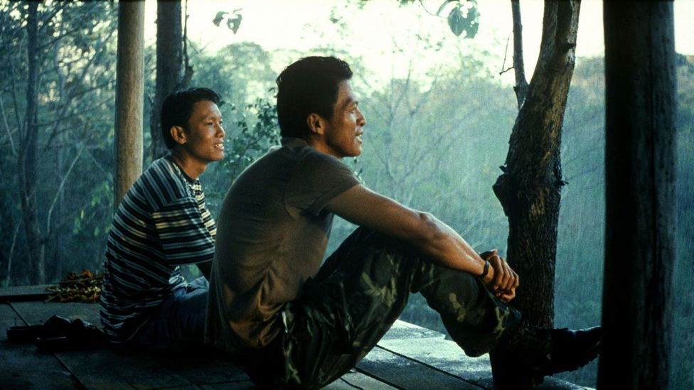 Apichatpong's breakthrough film was Tropical Malady in 2004, a tender story of young gay love that becomes a hunt for a mysterious forest creature (Credit: Alamy)