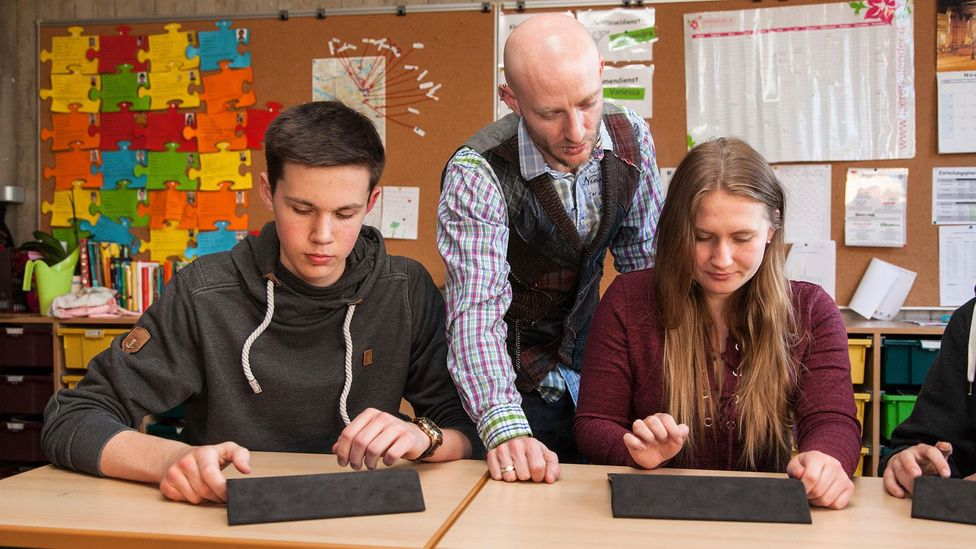 Foreign language students have greater opportunity to use their multilingual skills at work (Credit: Alamy Stock Photo)