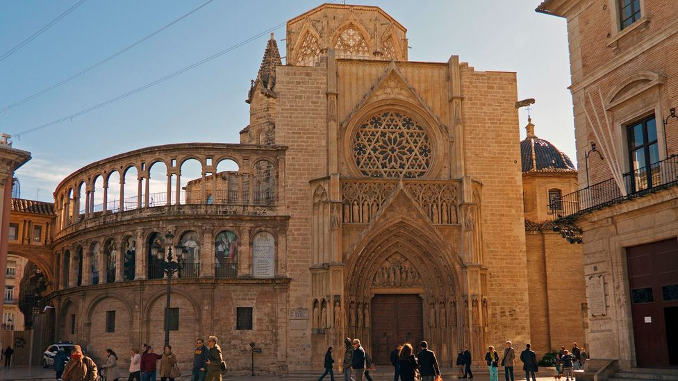 The Valencia Cathedral houses what is said to be the Holy Grail (Credit: Angel Villalba/Getty Images)