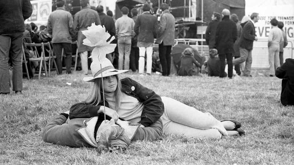 The hippies fuelled cultural changes more than they did political ones – their dress, hairstyles and music preferences were easily co-opted by the establishment (Credit: Getty)
