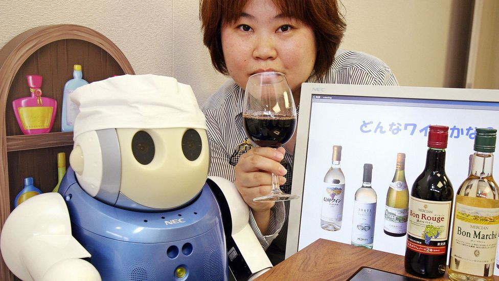 Robots serve in the military, replace romantic partners, police shopping centres and even suggest the right dish to pair with wine using infrared sensors (Credit: Getty Images)