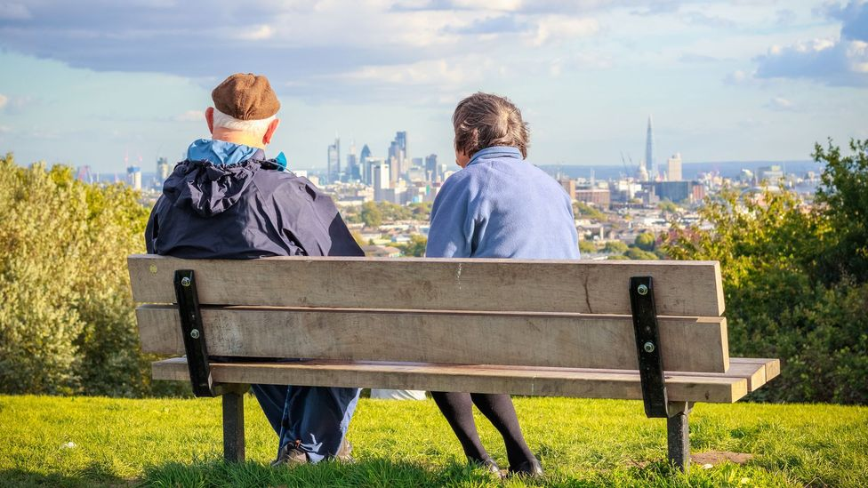 City-dwellers live longer than their countryside counterparts and are happier as seniors (Credit: Getty Images)