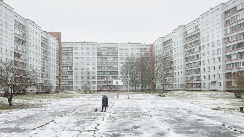 Despite its sparse population, Latvia has one of the highest apartment-dwelling proportions in Europe (Credit: Reinis Hofmanis)