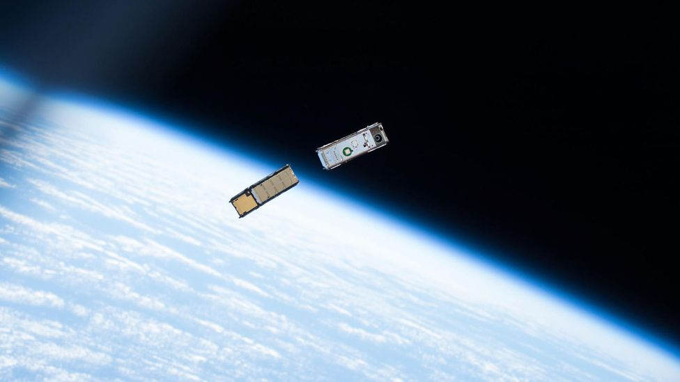 The balloons could be a cheap way to launch tiny cubesats (Credit: Alamy)