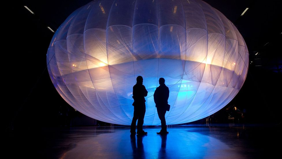 Project Loon's balloons have already been used in disaster relief operations (Credit: Getty Images)