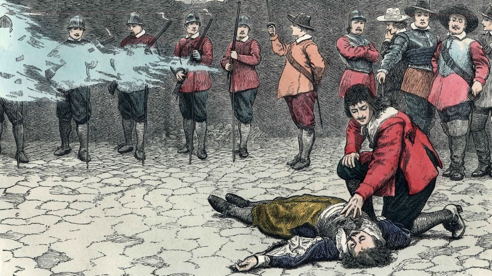 Death by firing squad has been in use for hundreds of years (Credit: Getty Images)