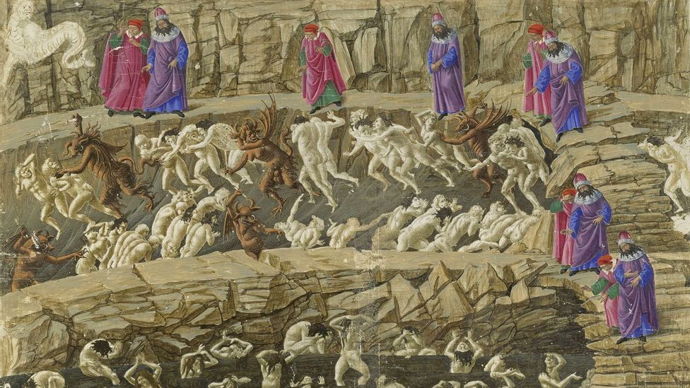 Dante's vision of Hell has inspired countless artists – from Botticelli to the videogame designers behind a 2010 adaptation of the Inferno for Playstation and Xbox (Credit: Alamy)