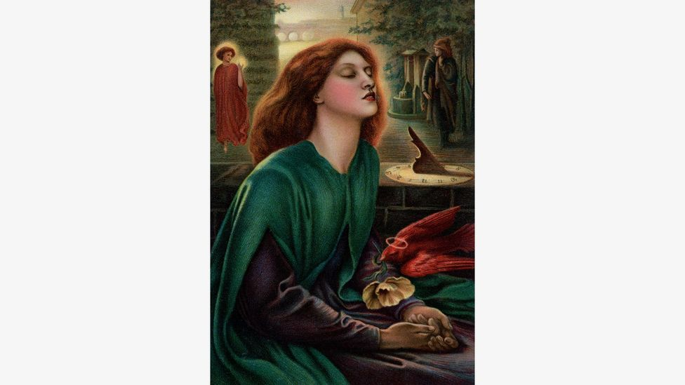 Poet and painter Gabriel Charles Dante Rossetti changed his name to Dante Gabriel Rossetti in the poet's honour – and he painted Beatrice, Dante's ideal woman (Credit: Alamy)