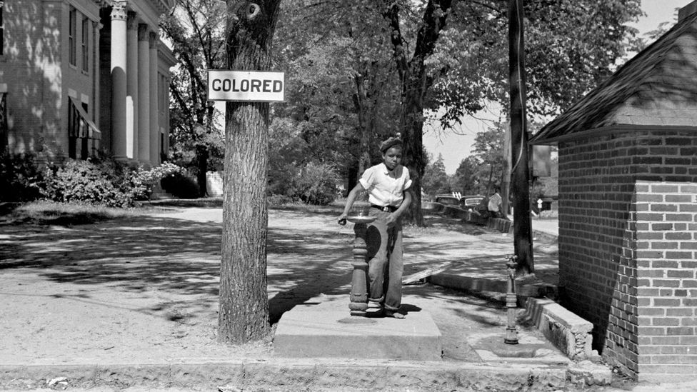 In 1952, America was still operating as a 'Jim Crow nation' with the 'separate but equal' doctrine in force (Credit: Alamy)
