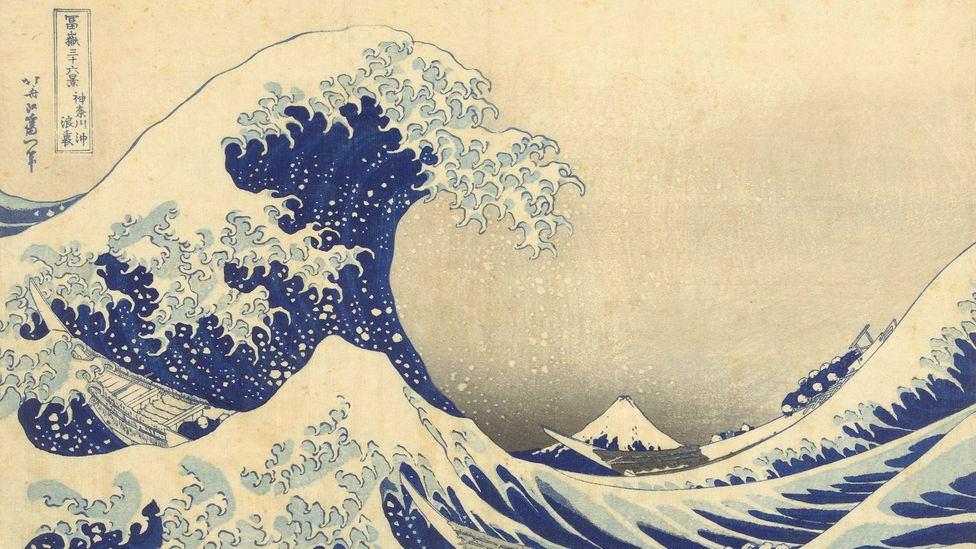 Katsushika Hokusai was one of two Japanese artists directly mentioned by Van Gogh: his most famous work is Under the Wave of Kanagawa, 1829-1833 (Credit: Rijksmuseum, Amsterdam)