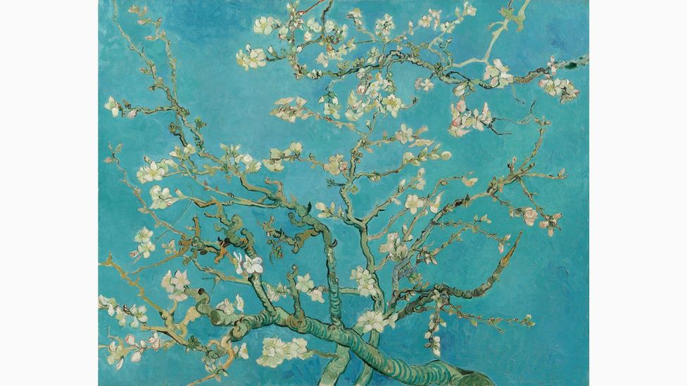 Painted to celebrate the birth of his nephew, Almond Blossom reflects Van Gogh's interest in blossoming trees, which represented hope and new life (Credit: Van Gogh Museum)