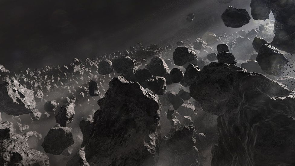 Asteroid belt (Credit: Getty images)