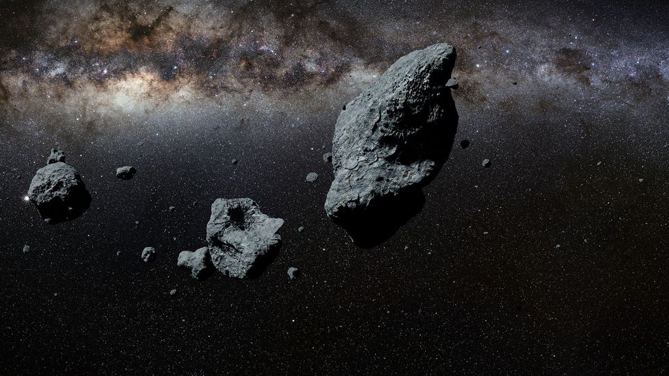 One major downside of asteroid is that they have zero-gravity - something that is detrimental to human health long-term (Credit: Getty Images)