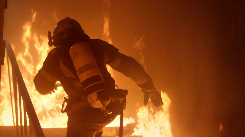 A perceived threat made firefighters better at processing information (Credit: Getty Images)