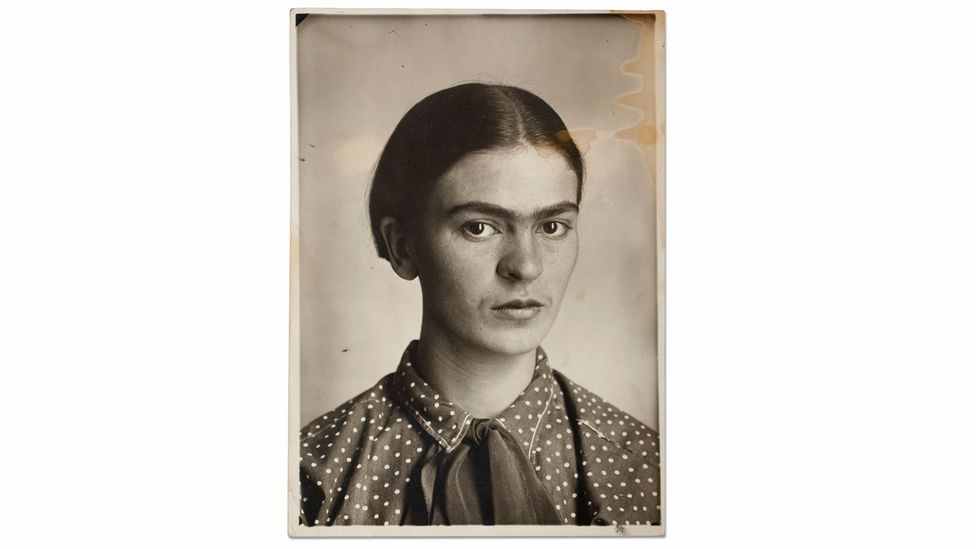 Frida is said to have used her self-portraits and traditional Mexican dresses to help her deal with her life and struggles (Credit: Victoria and Albert Museum)