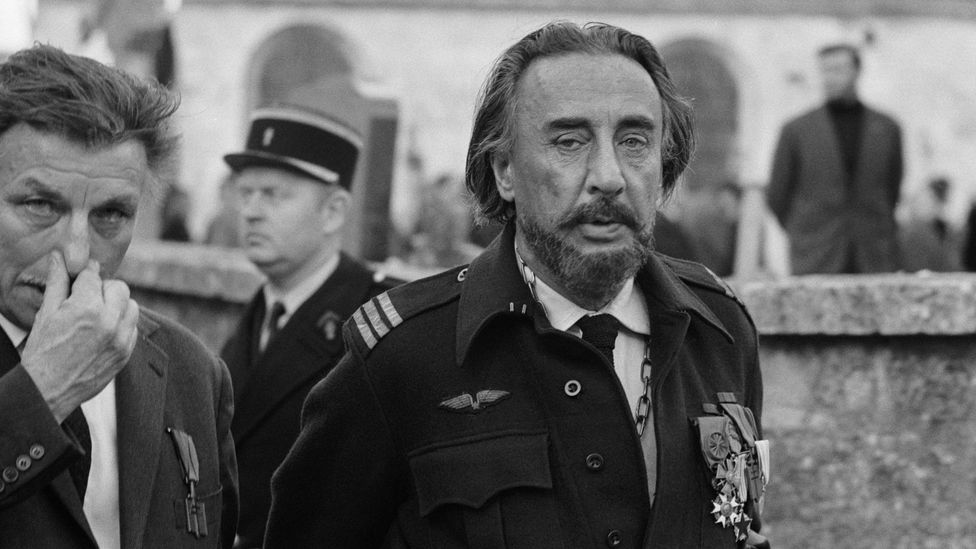 Gary attended the funeral of French general and leader of the resistance, Charles de Gaulle, in 1970 (Credit: James Andanson/Sygma via Getty Images)