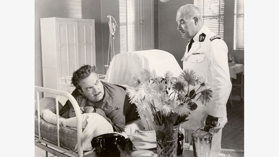 The Roots of Heaven (1958), directed by John Huston and with a cameo from Orson Welles (pictured), was based on Romain Gary's 1956 novel (Credit: Alamy)