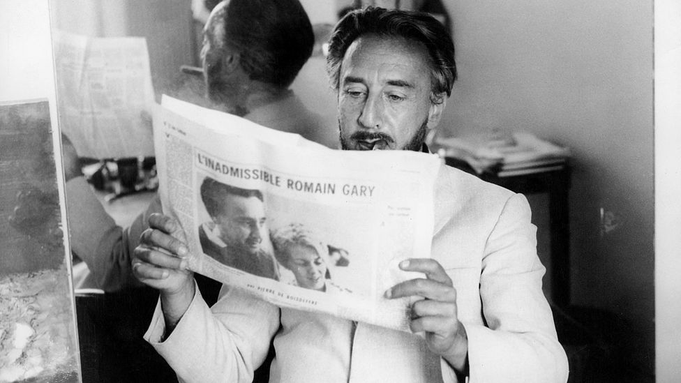 Gary's alter ego Émile Ajar was awarded the Prix Goncourt in 1975 for The Life Before Us (Credit: Getty Images)