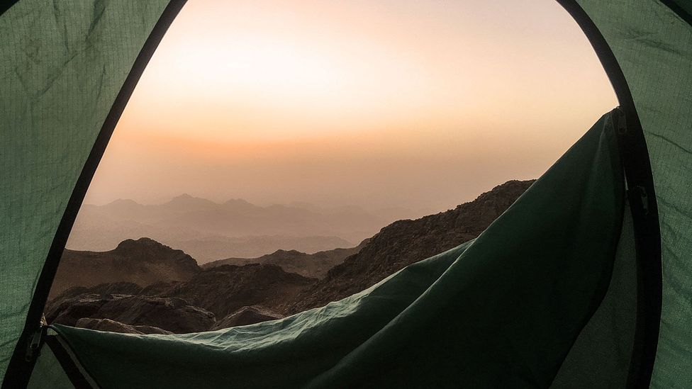 The Sinai Trail, founded by the region's Bedouin tribes, has been named one of the best new hikes in the world (Credit: Clodagh Kinsella)