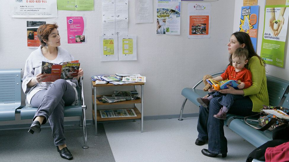 When we think of a future event we tend to forget the neutral parts, like reading a magazine during a visit to the doctor (Credit: Getty Images)