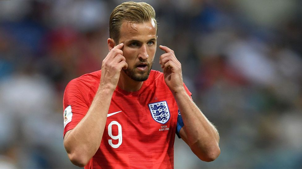 Top athletes such as Harry Kane may not have consciously trained the quiet eye technique, but the research suggests they all use it (Credit: Getty Images)