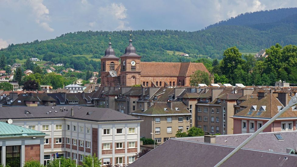 The small French town of St-Dié-des-Vosges is famous for giving America its name (Credit: Madhvi Ramani)