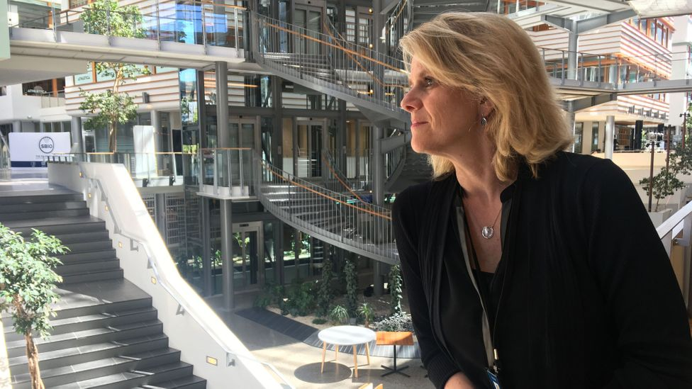 Hilde Bjørnland believes an egalitarian approach – distributing wealth between generations – has contributed to strong life satisfaction in Norway (Credit: Maddy Savage)