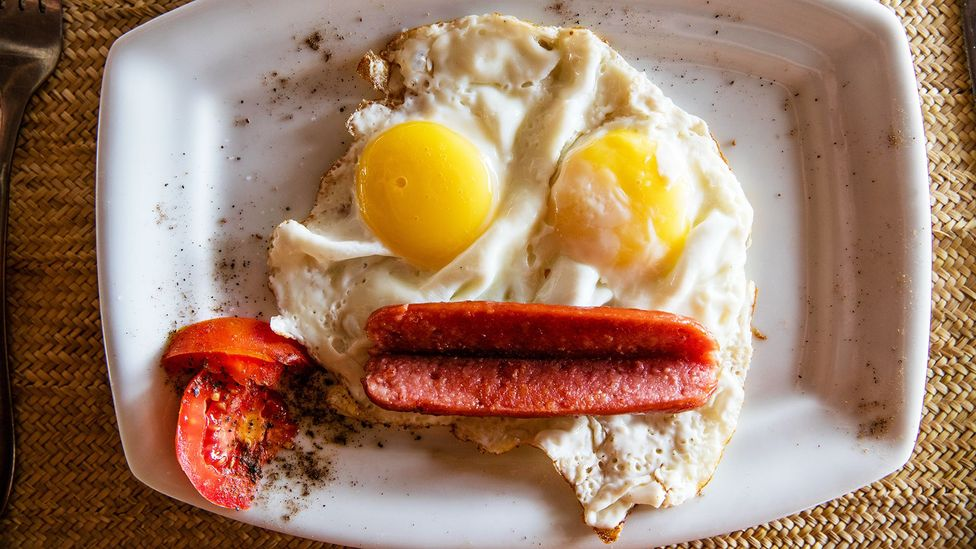 Why eggs are a good way of stopping a hangover