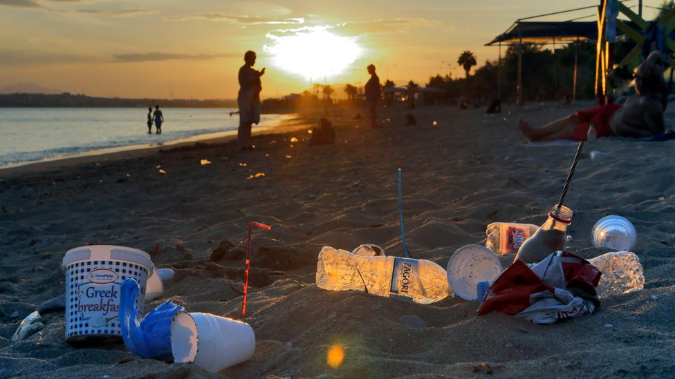 About eight million metric tonnes of plastic are thrown into the ocean annually, according to data cited by Earth Day Network (Credit: Getty Images)