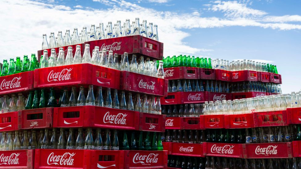 Soft drinks plastic packaging makes up around 20% of the total food and drink packaging on the market, according to data from Coca Cola (Credit: Getty Images)