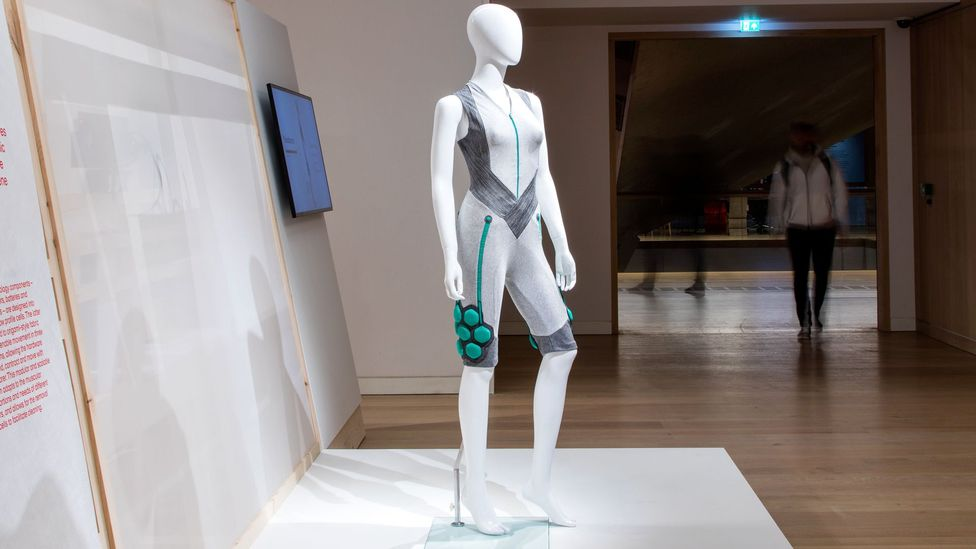 The 'super suit' helps boost the power of the wearer's muscles (Credit: Seismic)