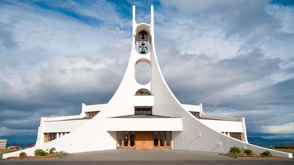 The church of Stykkisholmur was designed by Jón Haraldsson, and is reminiscent of a glacier (Credit: Alamy)