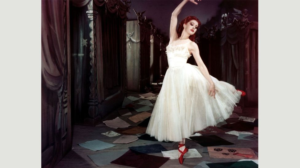 In Michael Powell and Emeric Pressburger's 1948 film The Red Shoes, Moira Shearer stars as a dancer seemingly controlled by her ballet slippers (Credit: Alamy)