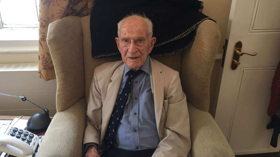 At 106, Bill Frankland is probably the oldest active doctor on the planet, and he shows no signs of slowing (Credit: Zaria Gorvett)