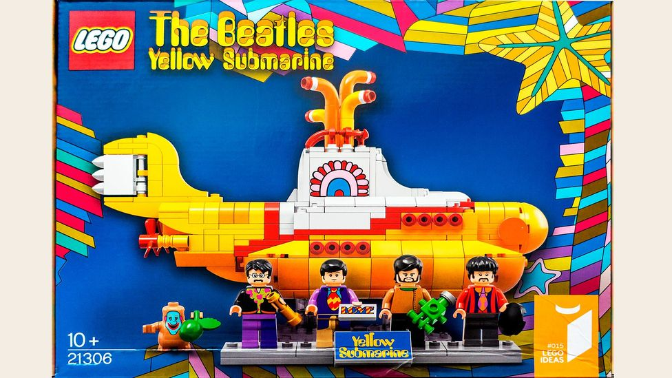 Yellow Submarine was arguably one of the first cartoons created with both a juvenile and an adult audience in mind – Lego recently made a set based on it for kids (Credit: Alamy)