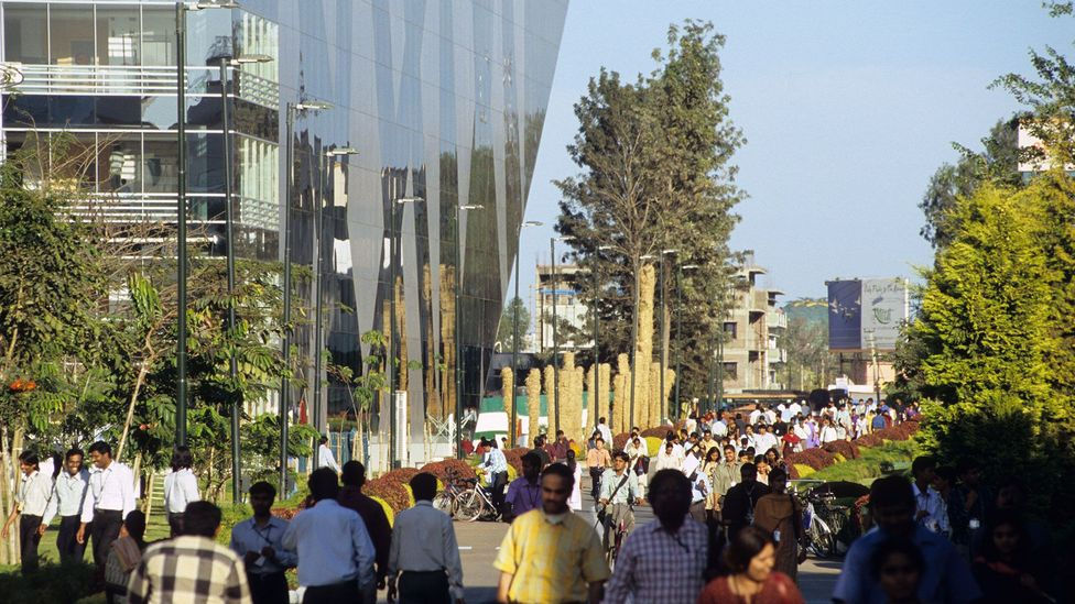 Electronic City in Bengaluru is predicted to become the single largest IT hub on Earth by 2020 (Credit: Joerg Boethling/Alamy)