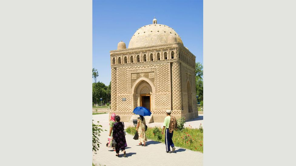 The Samanids, who ruled between 819 and 1005 AD, were based in Bukhara, Uzbekistan – where this mausoleum is today (Credit: Alamy)
