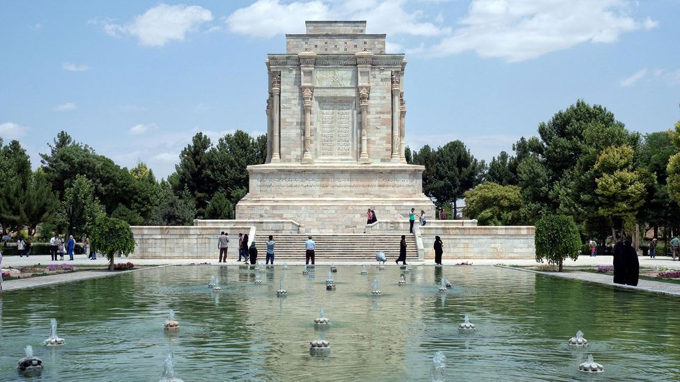 Despite being unknown in his lifetime, the poet Ferdowsi is now one of the most celebrated writers in Iran – this tomb complex was built in his honour in Tus (Credit: Alamy)