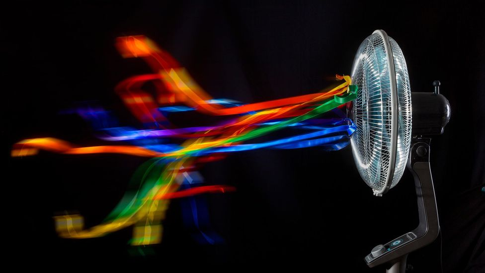 A fan won't cool you down if the air itself is too hot (Credit: Alamy)