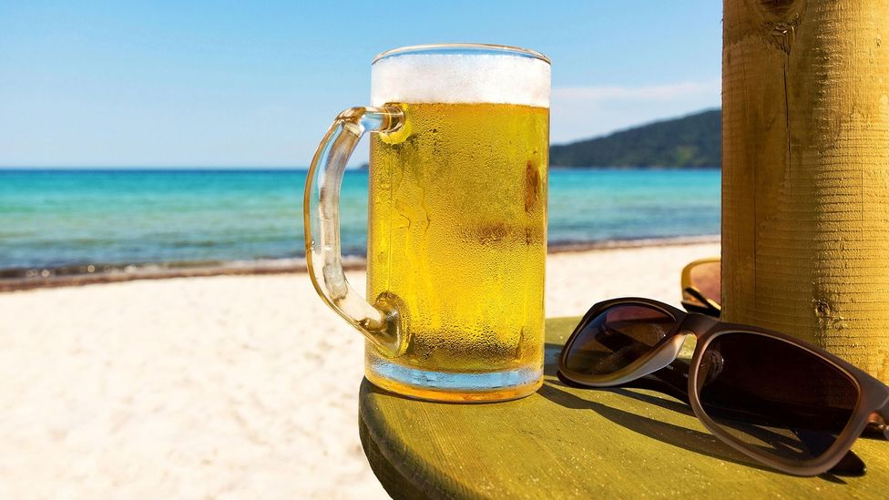 Beer can be just as hydrating as water - in small doses (Credit: Alamy)