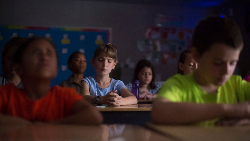 Numerous studies underline that benefits of mindfulness can include reduced stress and better concentration and it is growing in popularity in schools (Credit: Getty Images)